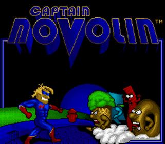 Captain Novolin - Screenshot - Game Title