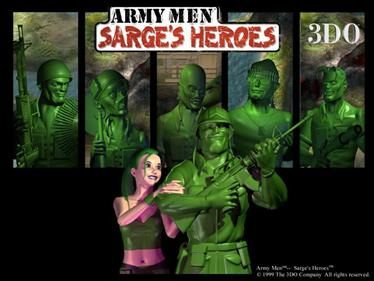 Army Men: Sarge's Heroes - Fanart - Background