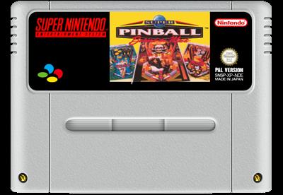 Super Pinball: Behind the Mask - Fanart - Cart - Front