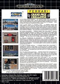 Ferrari Grand Prix Challenge - Box - Back