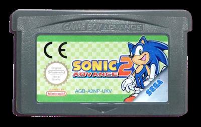 Sonic Advance 2 - Cart - Front