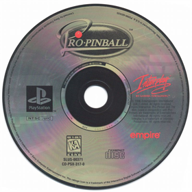 Pro Pinball - Disc