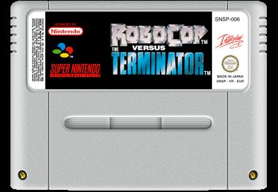RoboCop Versus The Terminator - Fanart - Cart - Front
