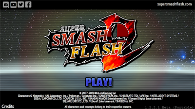 Super Smash Flash 2 - Screenshot - Game Title