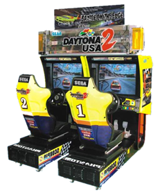Daytona USA 2: Battle on the Edge - Arcade - Cabinet