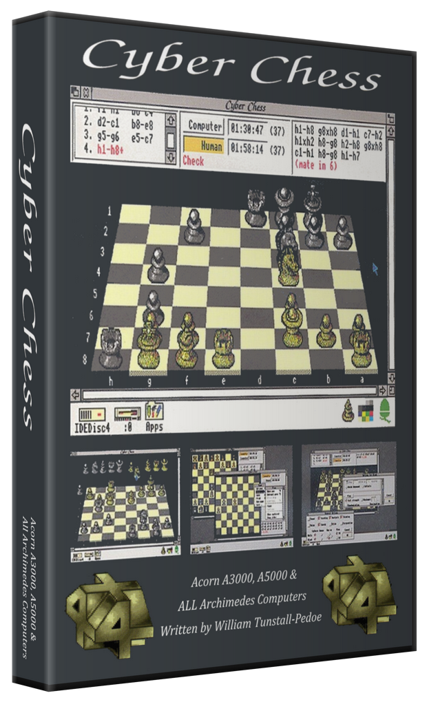 Cyber Chess Details - LaunchBox Games Database