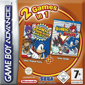 2 Games in 1: Sonic Battle + Sonic Pinball Party