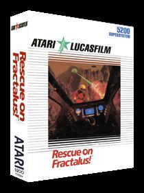 Rescue on Fractalus! - Box - 3D