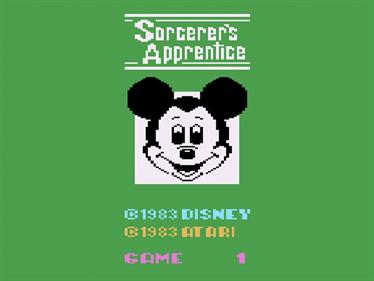Sorcerer's Apprentice - Screenshot - Game Title