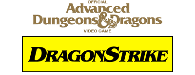 Advanced Dungeons & Dragons: DragonStrike - Clear Logo