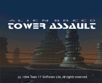 Alien Breed: Tower Assault - Screenshot - Game Title