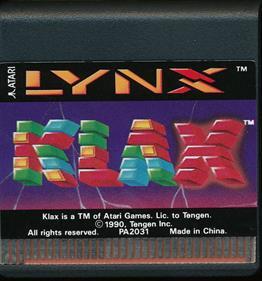 Klax - Cart - Front