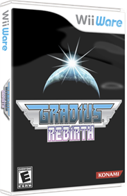 Gradius ReBirth - Box - 3D