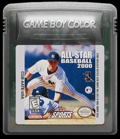 All-Star Baseball 2000 - Fanart - Cart - Front