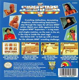 WWF Superstars 2 - Box - Back