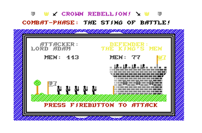 Crown Rebellion - Screenshot - Game Title