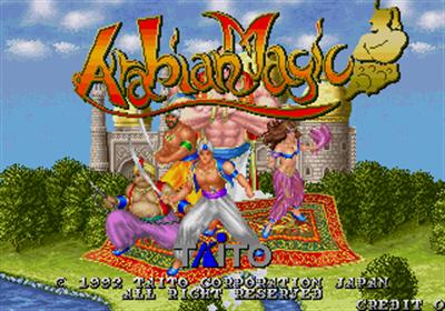 Arabian Magic - Screenshot - Game Title
