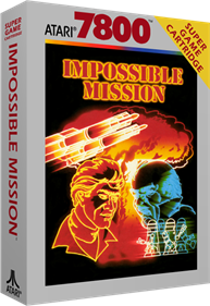 Impossible Mission - Box - 3D