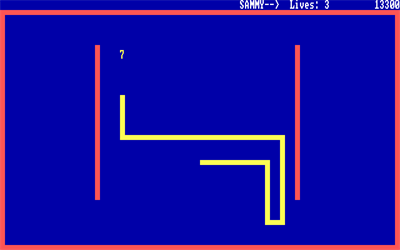 QBasic Nibbles - Screenshot - Gameplay