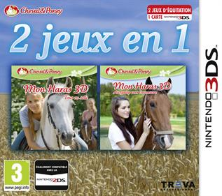 2in1 Horses 3D Vol.2: Rivals in the Saddle and Jumping for the Team 3D