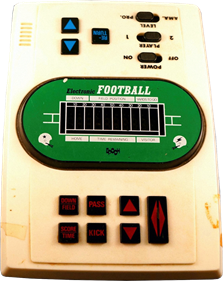 Electronic Football - Cart - Front