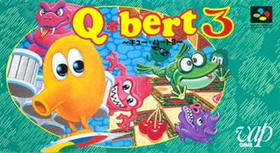 Q*bert 3 - Box - Front