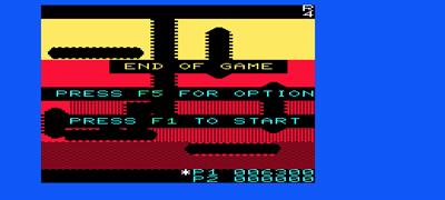 Dig Dug - Screenshot - Game Over