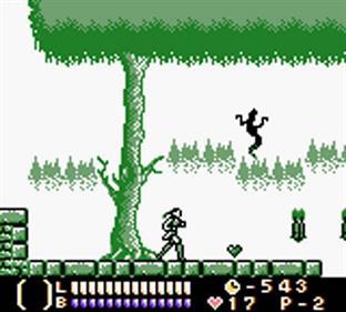 Castlevania Legends - Screenshot - Gameplay