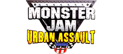Monster Jam : Urban Assault - Clear Logo
