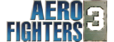 Aero Fighters 3 - Clear Logo