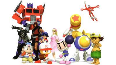 DreamMix TV World Fighters - Fanart - Background