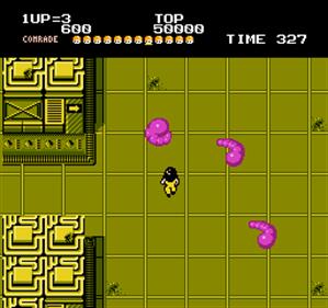 Alien Syndrome - Screenshot - Gameplay