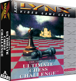 The Fidelity: Ultimate Chess Challenge - Box - 3D
