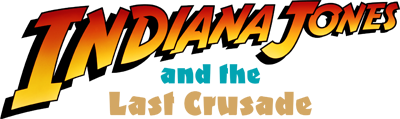 Indiana Jones and the Last Crusade - Clear Logo