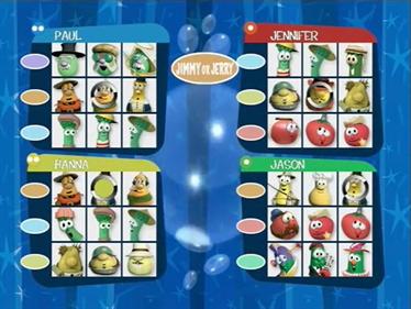 Veggie Tales: Veg-Out! Family Tournament - Screenshot - Gameplay