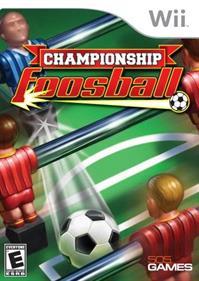 Championship Foosball