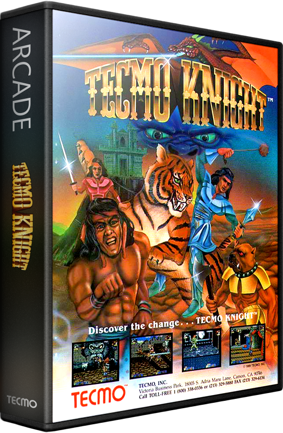 Tecmo Knight Details Launchbox Games Database