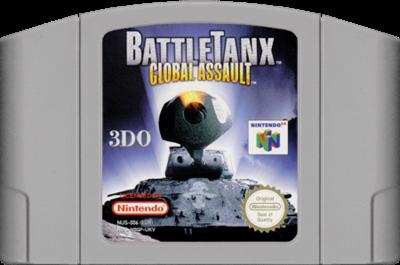 BattleTanx: Global Assault - Cart - Front