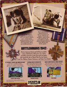 Battlehawks 1942 - Box - Back