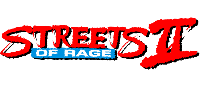 Streets of Rage 2 - Clear Logo