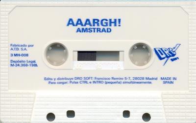 AAARGH! - Cart - Front