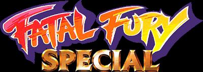 Fatal Fury Special - Clear Logo