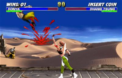 Mortal Kombat 3 - Screenshot - Gameplay