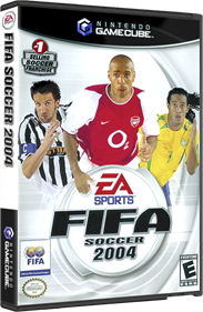 FIFA Soccer 2004 - Box - 3D