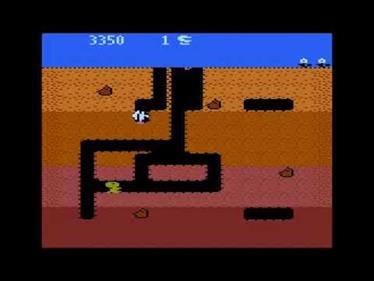 Dig Dug - Screenshot - Gameplay