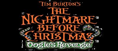 Tim Burton's The Nightmare Before Christmas: Oogie's Revenge - Clear Logo