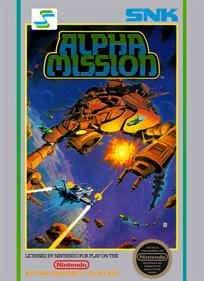 Alpha Mission - Box - Front