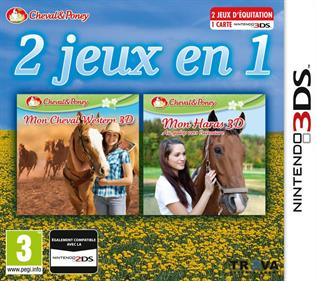 2in1 Horses 3D Vol.3 - My Riding Stables 3D: Jumping for the Team and My Western Horse 3D