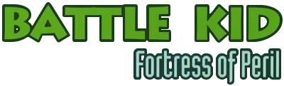 Battle Kid: Fortress of Peril - Clear Logo