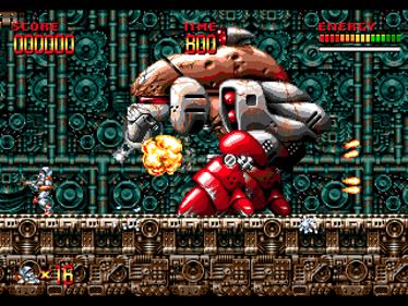 Mega Turrican - Screenshot - Gameplay